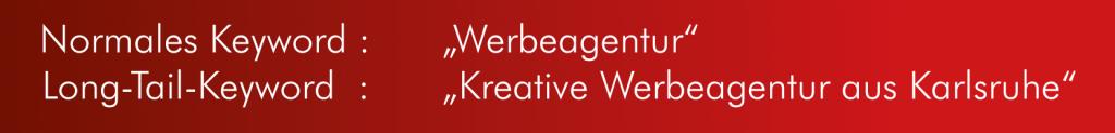 Keywords optimieren | Werbeagentur und SEO Agentur Karlsruhe