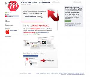 Facebook Fanpage erstellen | Werbeagentur Karlsruhe | MARTES NEW MEDIA