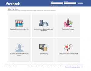 Erstellen Sie eine Facebook-Seite, um eine engere Beziehung zu Ihren Kunden oder Ihrem Publikum aufzubauen.