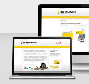 Relaunch Website Schimanski Gastechnik