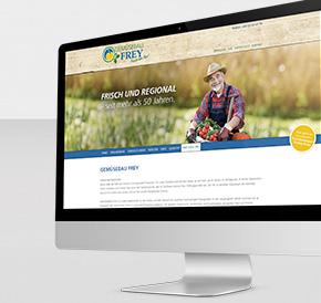 Relaunch Internetauftritt Gemüsebau Frey
