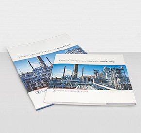 Business Records – image brochure and presentation folder