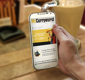 myCurrywurst website