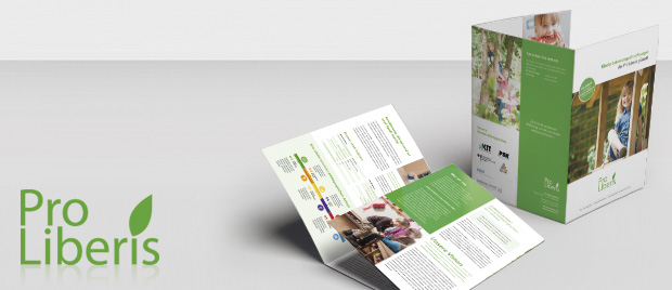 Pro-Liberis: Gestaltung Printprodukte