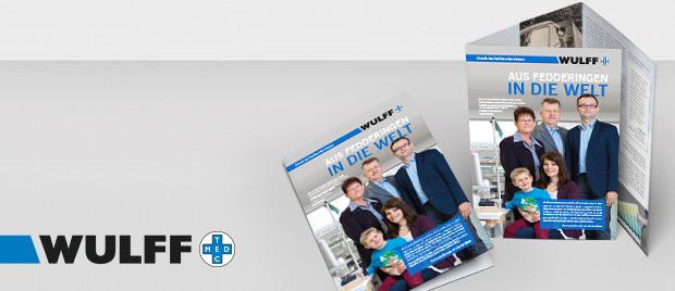 Werbeagentur Karlsruhe: Wulff MED TEC Familienchronik