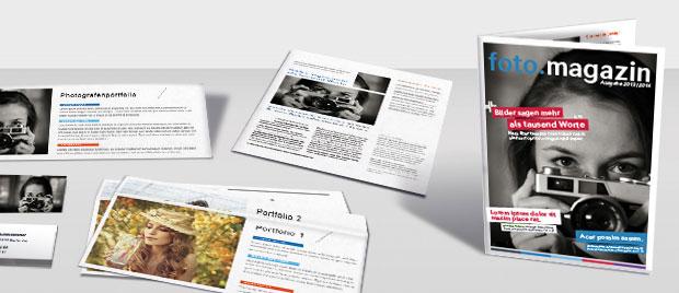 Werbeagentur Karlsruhe: Magazingestaltung