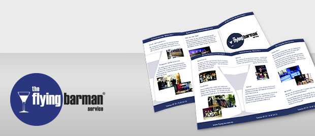 Flyer: The Flying Barman Service