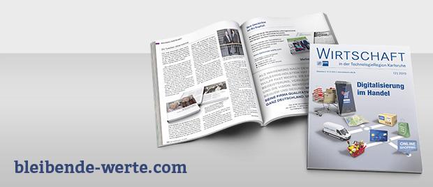 Werbeagentur Karlsruhe: Bleibende Werte – Bericht