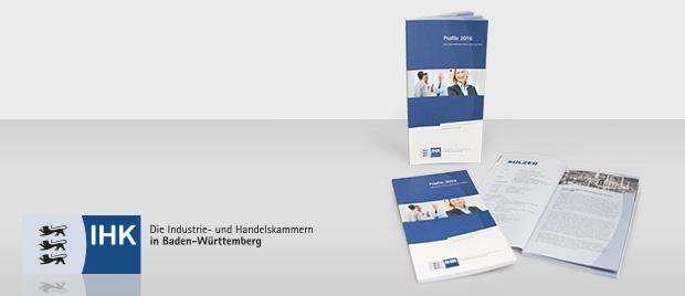 Modernisierte Broschüre der IHK BW