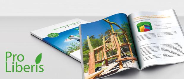 Die Werbeagentur Karlsruhe gestaltet erstmals den SRS-Bericht für die Pro-Liberis gGmbH.