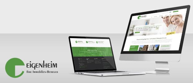 Eigenheim Hausverwaltung: Relaunch Internetauftritt