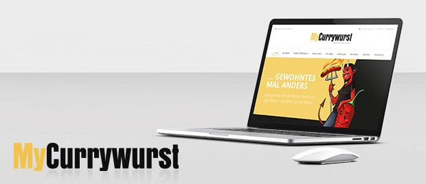Werbeagentur Karlsruhe Internetauftritt MyCurrywurst