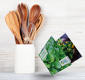 Saisonale Rezeptkarten Gemüsebau Frey